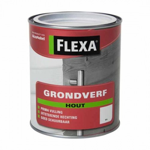 Flexa Grondverf Hout Wit