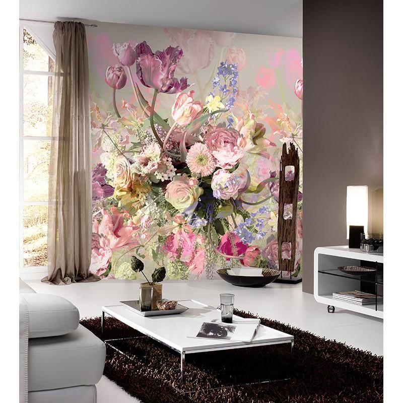 Colorful Explosion Floralsamp; Flower Retro Ink7291 W2IYeEDbH9