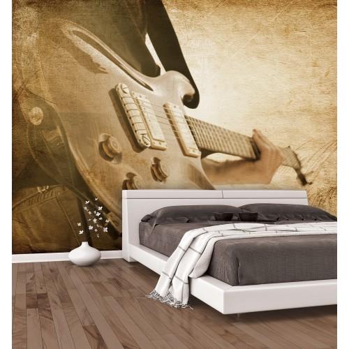 Grunge Sepia Guitar G45283