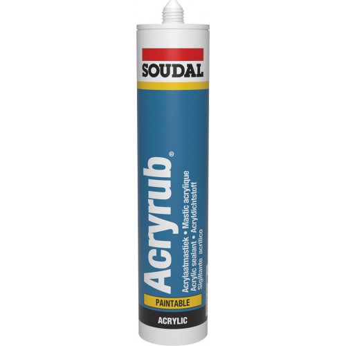 Soudal Acryrub wit 310ml 102600