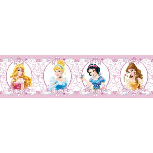 AG Design Disney Prinsessen behangboordje