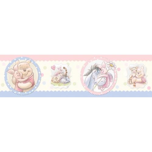 "AG Design Disney ""Winnie the pooh"" behangboord"