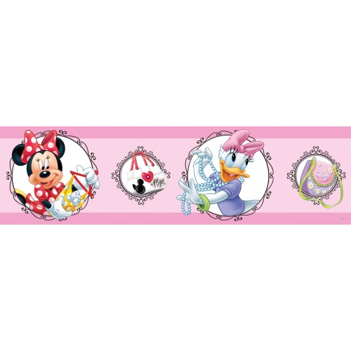 "AG Design Disney ""Minnie Mouse"" behangboord"