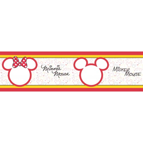 "AG Design Disney ""Mickey Mouse"" behangboord"