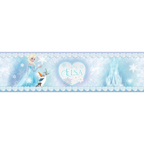 "AG Design Disney ""Frozen Elsa"" behangboord"