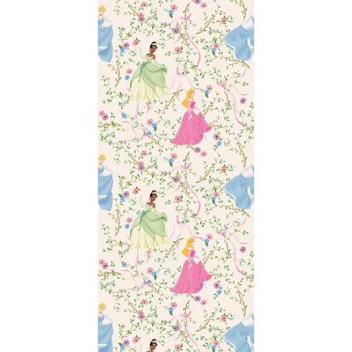 "AG Design Disney ""Princess flower"" behang"
