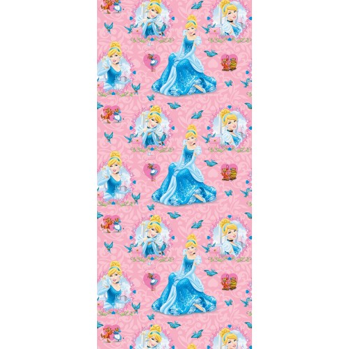 "AG Design Disney ""Prinses Assepoester"" behang"