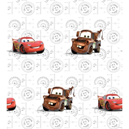 AG Design Disney Cars cockpit behang