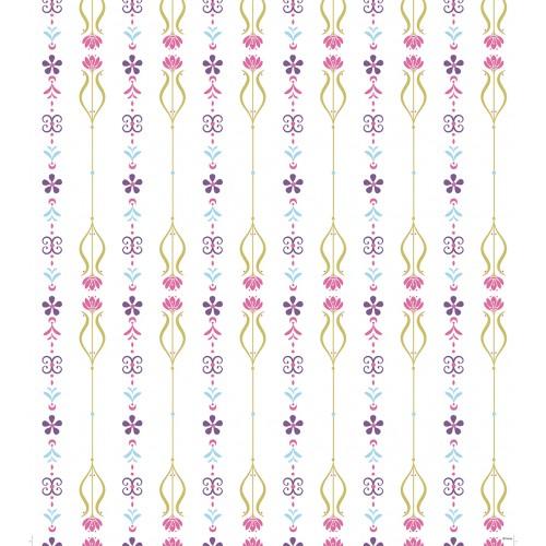 """AG Design Disney """"Frozen bloemen"""" behang"""