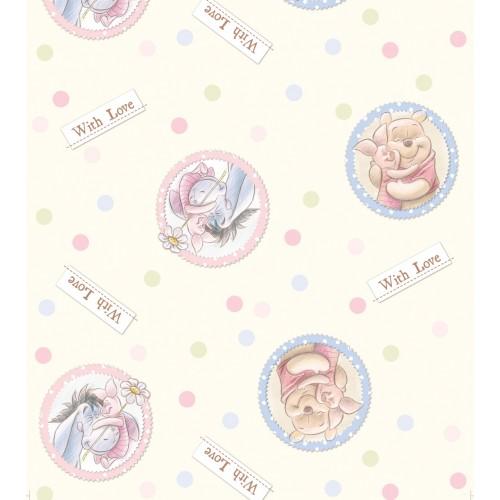 "AG Design Disney ""Winnie the pooh"" behang"