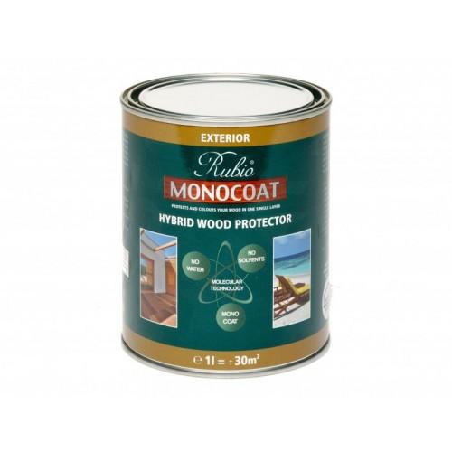 White rubio monocoat hybrid wood exterior protector - Rubio monocoat exterieur ...