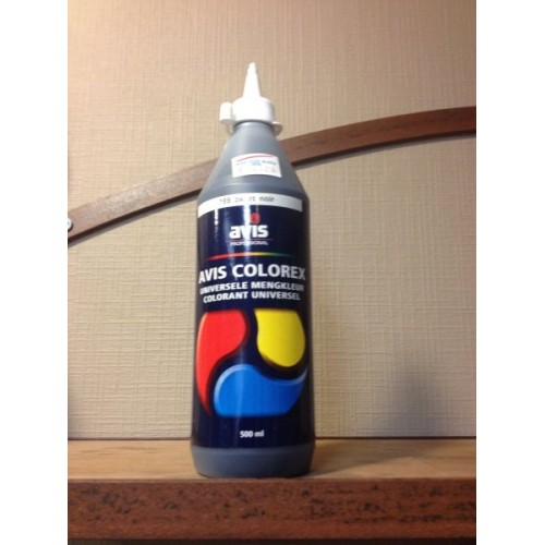 Avis Colorex 500 ml zwart