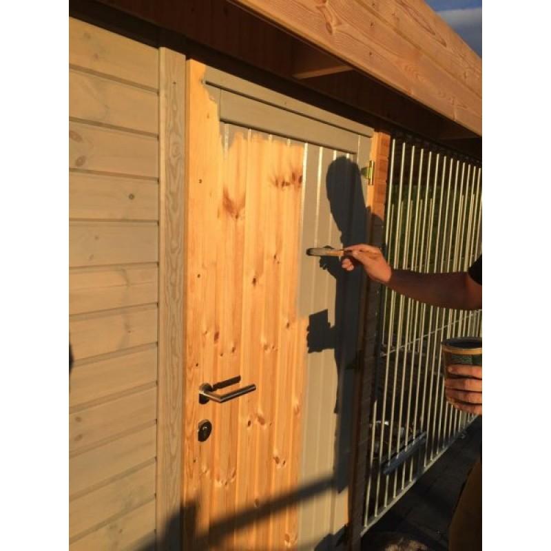 Rubio monocoat hybrid wood exterior protector light grey - Rubio monocoat exterieur ...