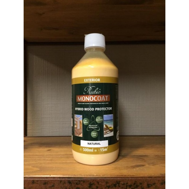 naturel rubio monocoat hybrid wood exterior protector
